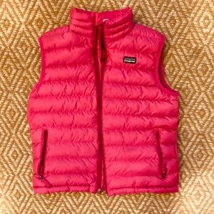 Girls Patagonia Down Sweater Vest